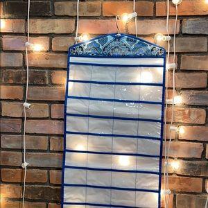 Paisley Hanger Hanging Toiletry Kit Pockets Long